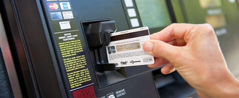 How to detect a card skimmer